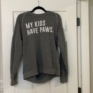 My kids have paws sweater